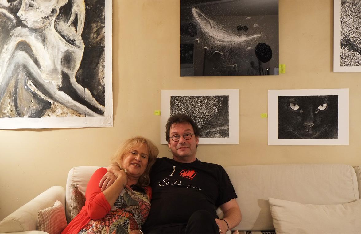 Henri Blanc, Marine Falk Leplat, Exposition, exhibition, seiziem art, Paris